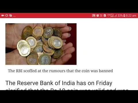 Who refusing to receipt 10 rs. Coin please complaint .