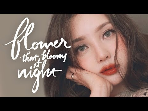 🥀Instagram Makeup-Flower that Blooms at night (With sub) 인스타 메이크업 - 밤에 피는 꽃