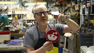 Adam Savage Opens His Reddit Secret Santa Gift!