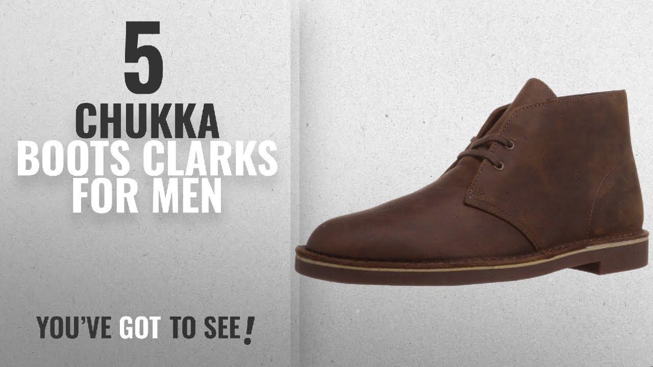 8509d292b5e Top 10 Chukka Boots Clarks [ Winter 2018 ]: Clarks Men's Bushacre 2 Chukka  Boot,Beeswax,11 M US