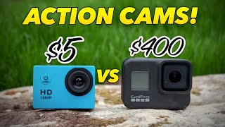 Can this $5 action camera compete with a GoPro?