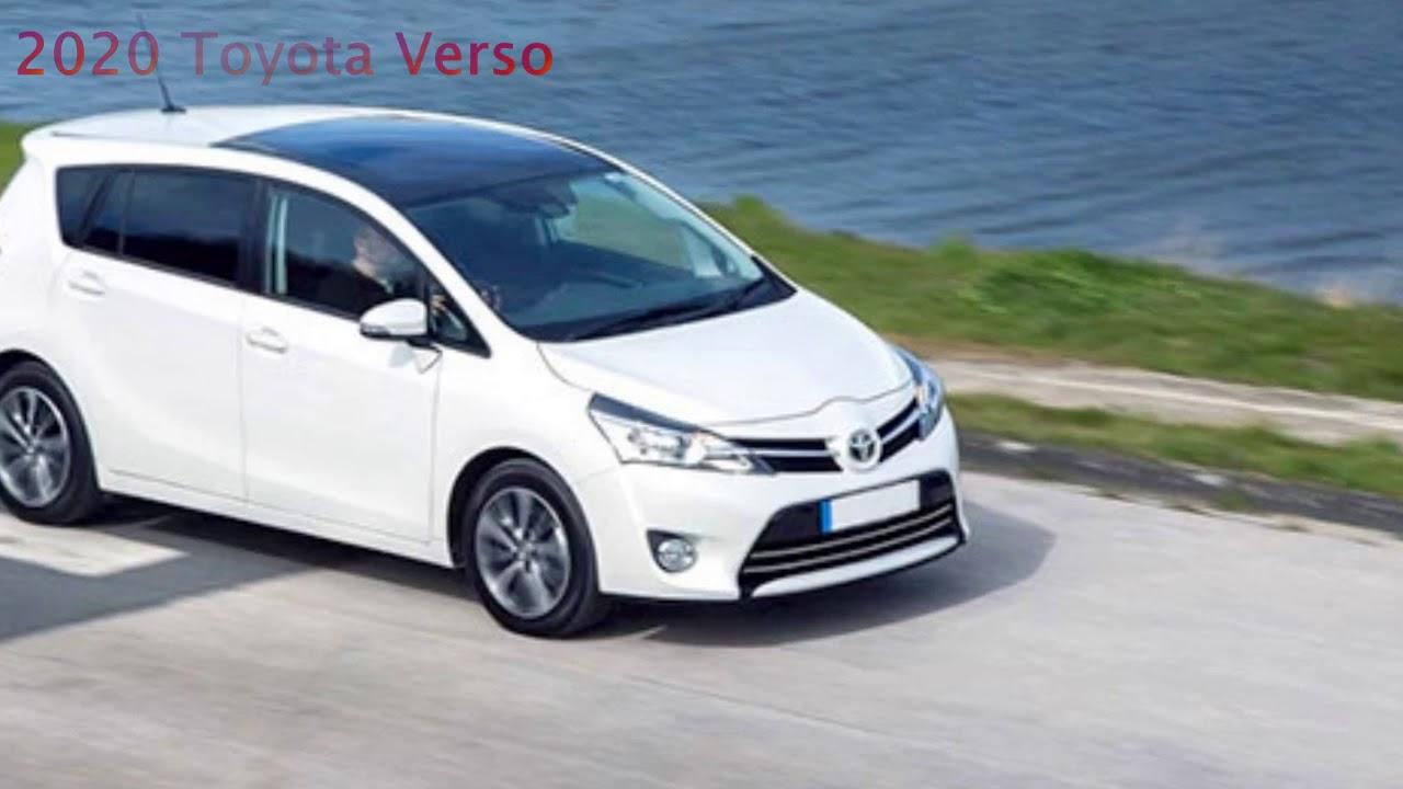 2020 Toyota Verso New Concept