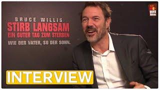 Sebastian Koch - Stirb Langsam 5   EXKLUSIVES Interview (2013) und GEWINNSPIEL