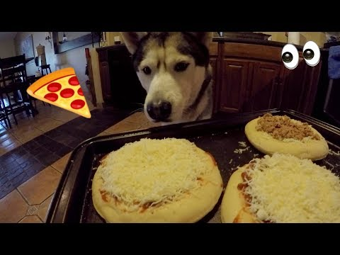 DIY Dog Pizza with Gohan! - Baking Dog Friendly Pizza for 300k SUBSCRIBERS!