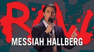 Man behöver inte perfekt svenska - Messiah Hallberg | RAW COMEDY