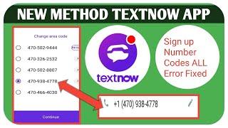 New Working Method TextNow App 2021   textnow app is not working problem fixed 2021 screenshot 5