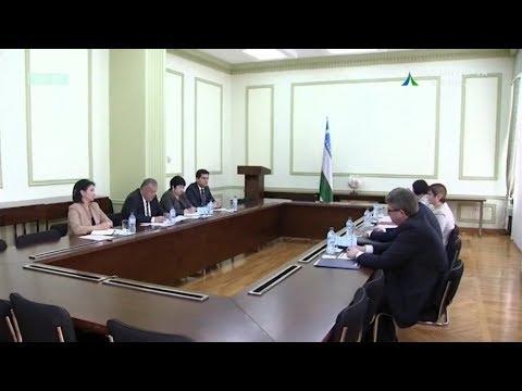 Madaniyat vazirligida Belorus madaniyati uchrashuvi | Madaniyat yangiliklari [11.04.2018]