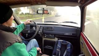 Original Renault R5 (non-Turbo) Test Drive