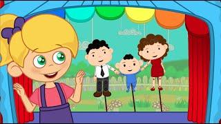 Ainsi Font Font Font les Petites Marionnettes - comptines et chansons avec les P