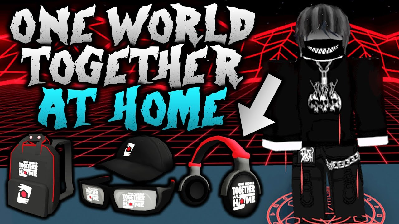 OUT NOW NEW ROBLOX EVENT TOGETHER AT HOME (COMPLETED