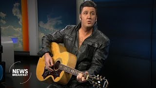 Elvis tribute performer Mark Anthony wants to bring the King to younger audiences
