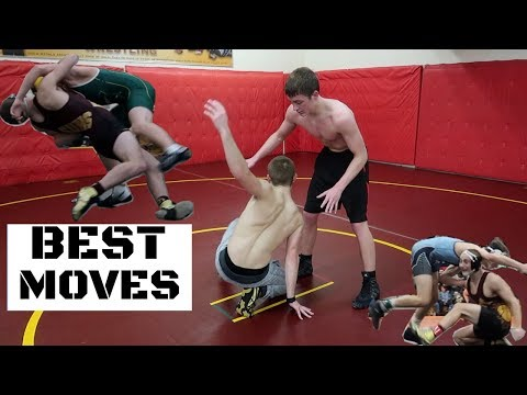 Top 5 Wrestling Moves *TAKEDOWNS*