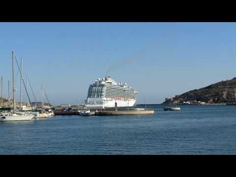 Royal Princess en puerto de Cartagena