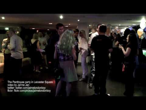 The Penthouse party in Leicester Square [HD video]