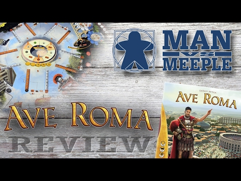 Ave Roma (A-Games) Review by Man Vs Meeple