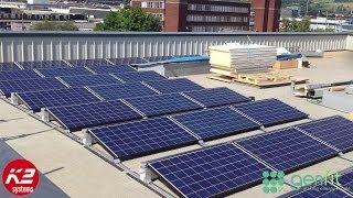 K2 Mounted Solar PV System - Bury College