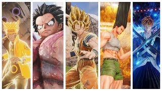 Jump Force - All Characters Super and Ultimate Attacks (So Far)