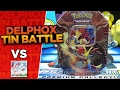 Pokemon Tin THROHDOWN! Our Delphox EX Tin vs Kevsbud's Greninja EX Tin