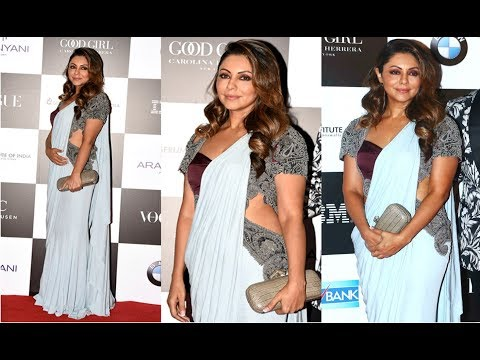 Shahrukh Khan Wife Gauri Khan Hot At Vogue Women Of The Year Awards 2017