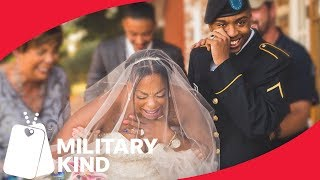 Soldier Gives Mom The Best Gift On Her Wedding Day | Militarykind