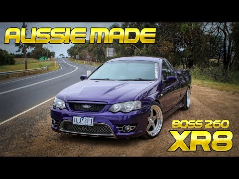 350+HP, V8 Aussie Made Ford Ute | INCREDIBLE Sound!