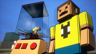 How Many Lego Ragdolls Can I Fit Into a Blender? - Brick Rigs Gameplay