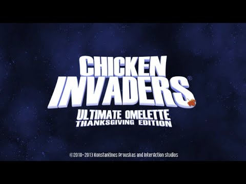 Chicken invaders 4 thanksgiving edition (full gameplay and my best.