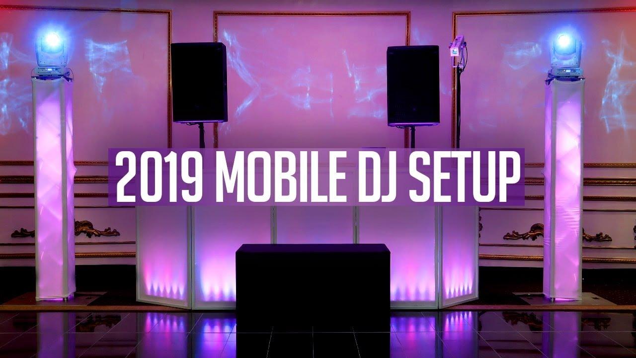 DJ GIG LOG: 2019 Mobile DJ Setup Tour