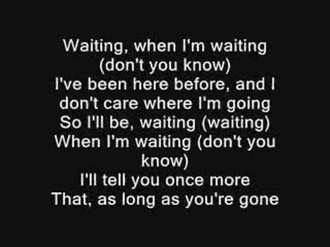 The All-American Rejects - I'm Waiting + Lyrics