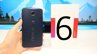 Google Nexus 6 First Impressions & Unboxing