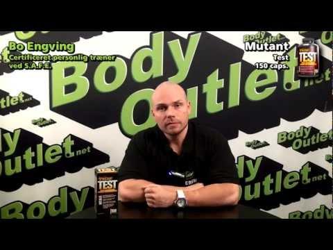 Bodyoutlet anmelder MUTANT TEST fra Mutant