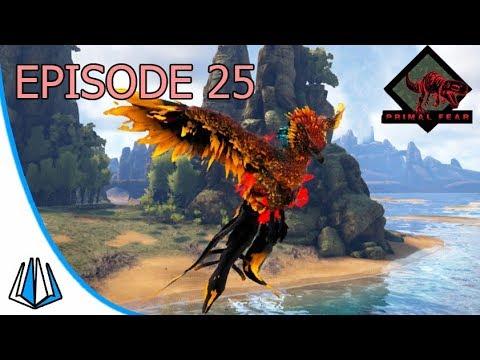 Petualangan Di Lava Cave & Taming Apex Phoenix! - ARK: Primal Fear #EP25