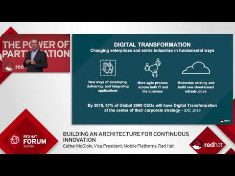 Highlights from Red Hat Forum Sydney 2016: Cathal McGloin