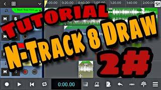 Tutorial 2# N-Track 8 Draw - Como gravar música/Rap - Colocar beat e Salvar   Prod. JLS Beats