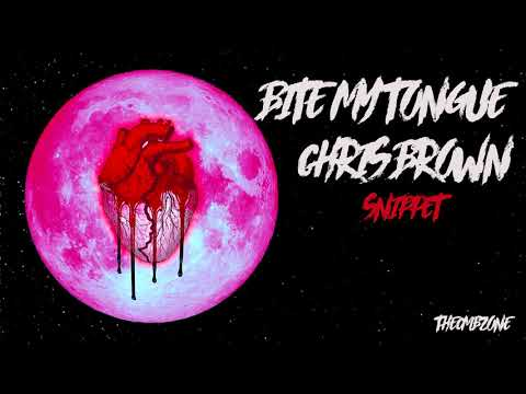 Chris Brown - Bite My Tongue (Heartbreak On a Full Moon) - Snippet (Official Audio)