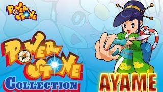 Power Stone Collection PSP Playthrough - POWER STONE 1 STORY MODE with AYAME