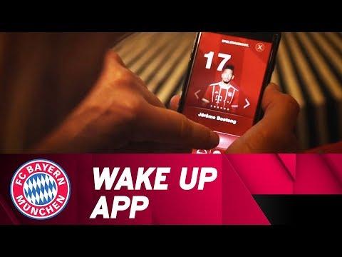 Lass dich von Boateng, Thiago, Wagner, Rudy & Co. wecken!   Die neue MAN Wake Up App