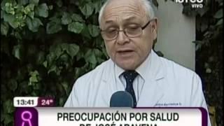 Preocupación por salud de José Aravena