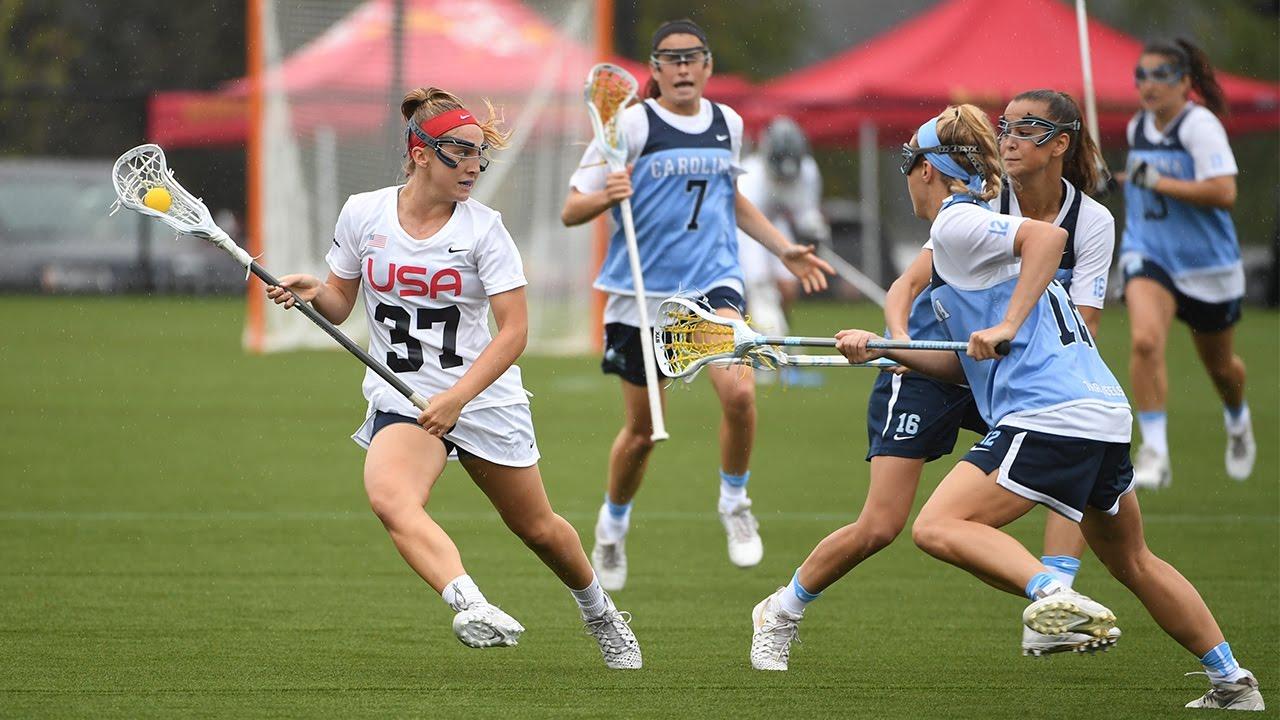 U.S. Women's National Team vs. UNC [Full Broadcast] - YouTube