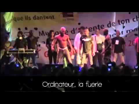 Concert de DJ Arafat a Lomé, Ordinateur a...
