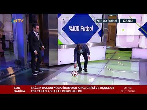 Rıdvan Dilmen'den penaltı yorumu (%100 Futbol Fenerbahçe-Galatasaray 23 Şubat 2020)