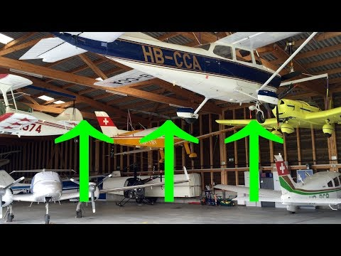Airplanes Hanging from Roof