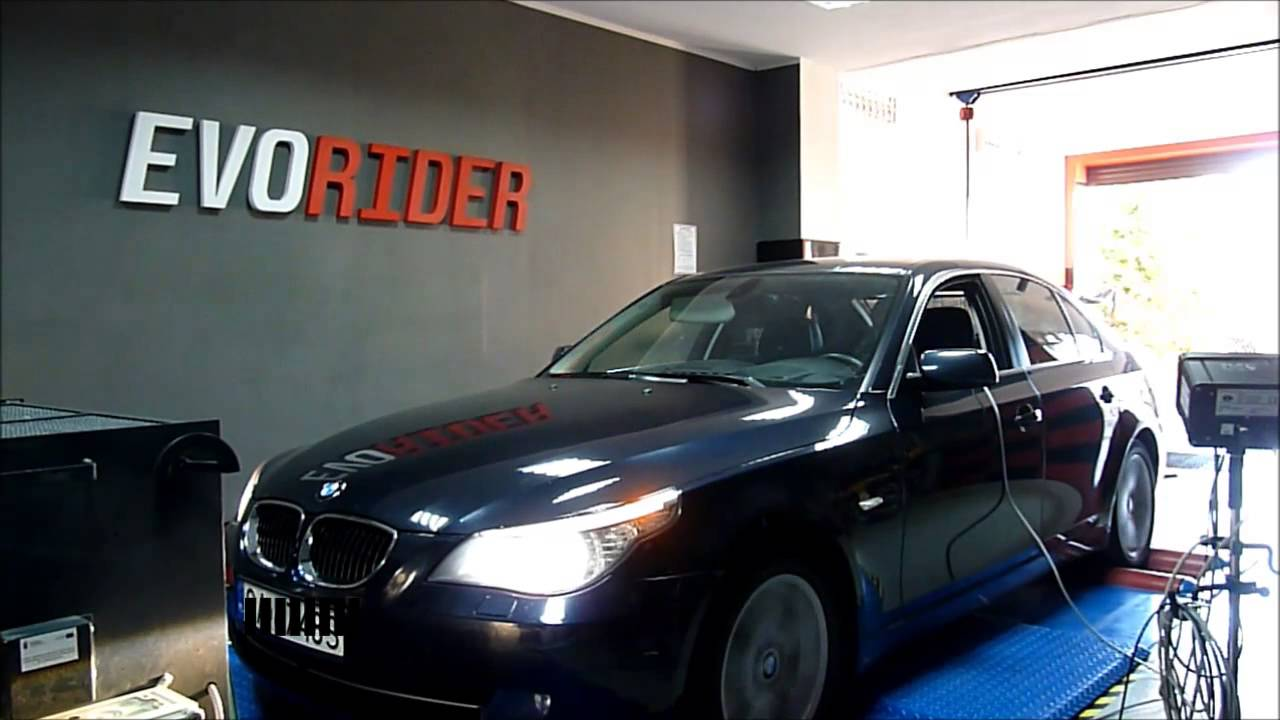 bmw e60 530d xdrive chip tuning by evorider youtube. Black Bedroom Furniture Sets. Home Design Ideas