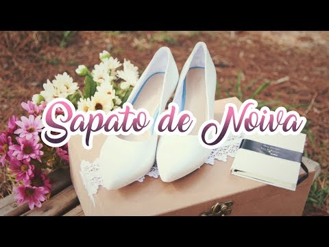 Sapato de Noiva  Como escolher o modelo ideal