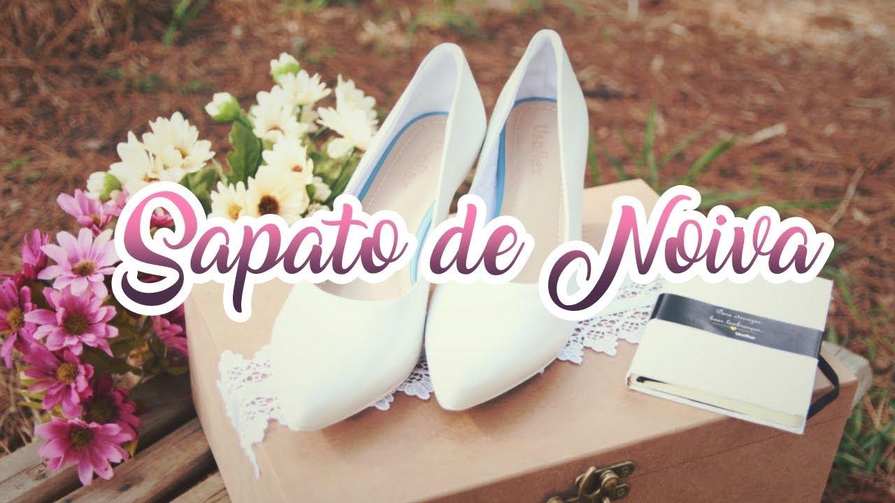 85292d66d8 Sapato de Noiva