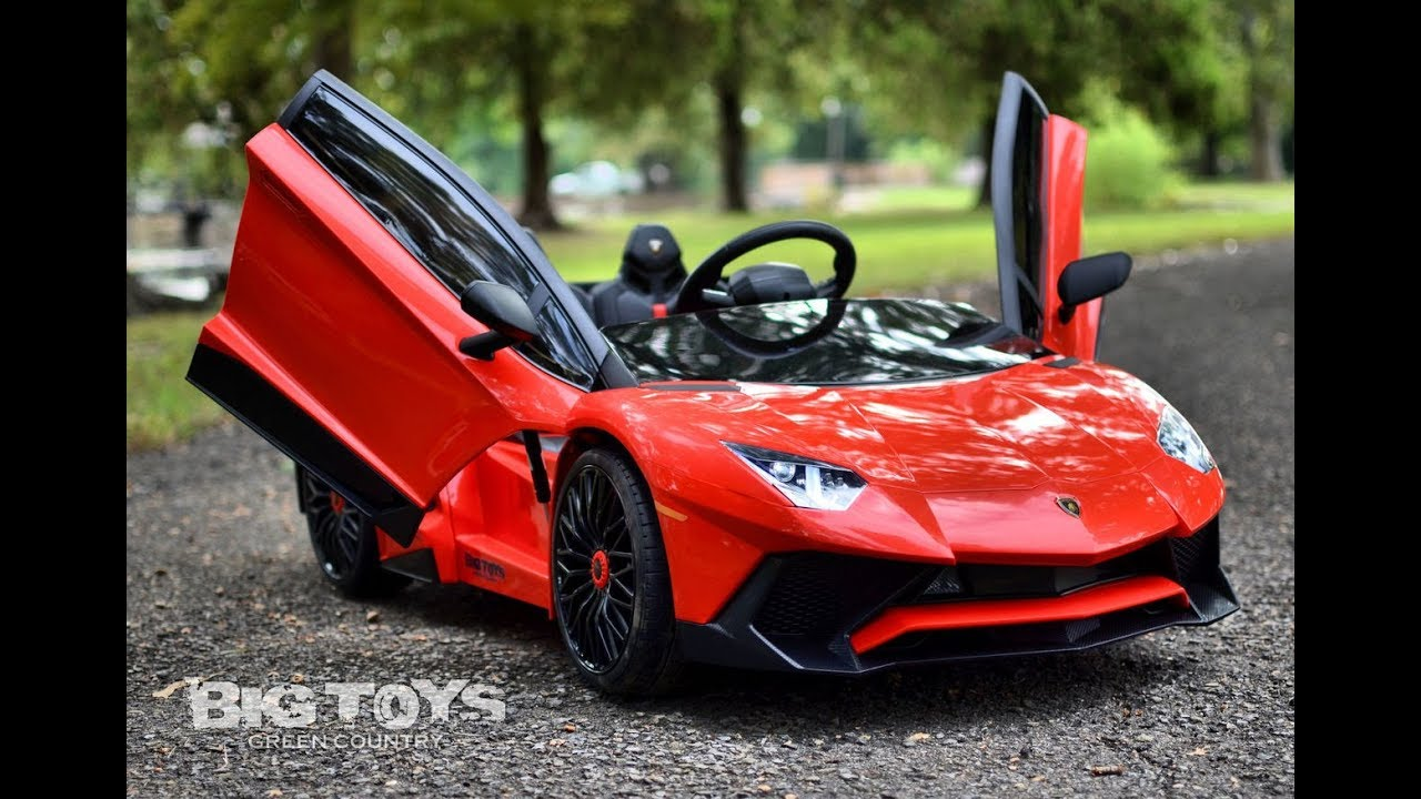 Kids ride on battery powered Lamborghini 12v