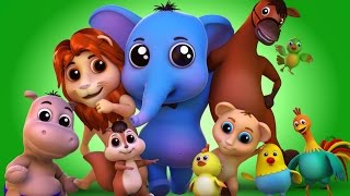 animals sound song | nursery rhymes farmees | farm song | kids songs | baby rhymes