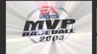 MVP Baseball 2003 Texas Rangers player 1 Cameo Intro