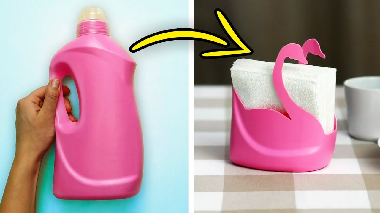 Poltrona Bottiglie Di Plastica.25 Idee Geniali Per Ri Usare Le Bottiglie Di Plastica Youtube