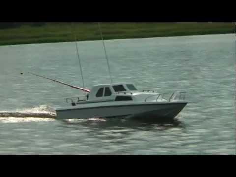 Pvc tube rc fishing boat or rc fishing cork doovi for Rc boats fishing